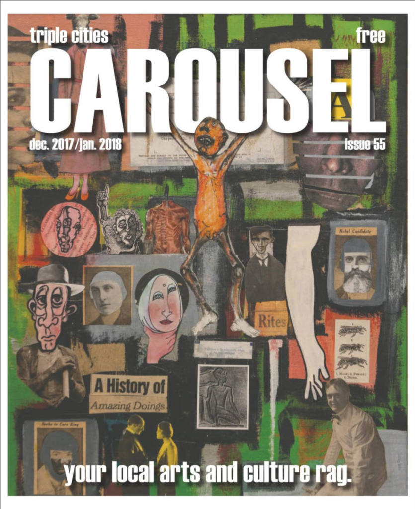 Carousel magazine cover, issue 55