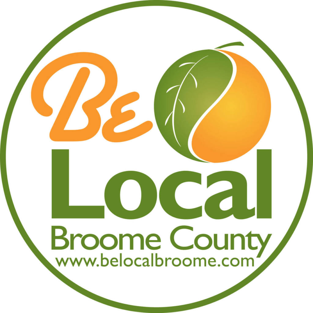 Be local broome county logo