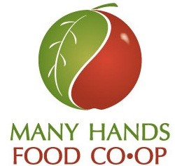 Many hands food co-op logo